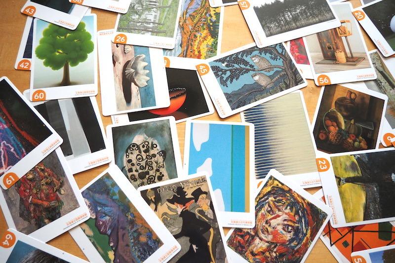 「北海道立美術館のアートカード」貸し出し開始!_b0068572_08341714.jpg