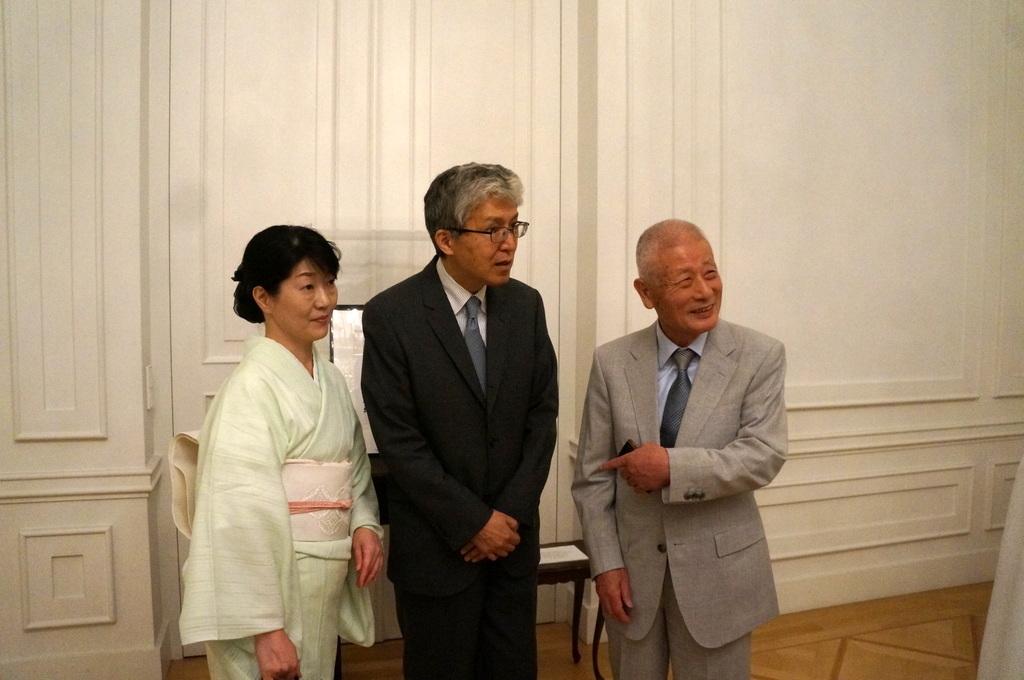 在ベルリン日本大使公邸レセプション 8/23_c0180686_01220372.jpg