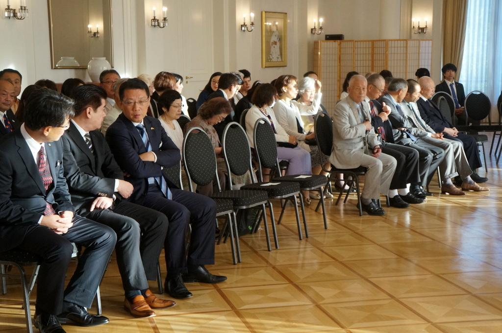 在ベルリン日本大使公邸レセプション 8/23_c0180686_01231252.jpg