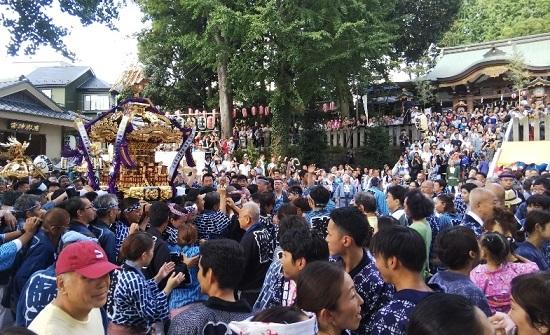 北澤八幡神社 祭礼_c0092197_15350608.jpg