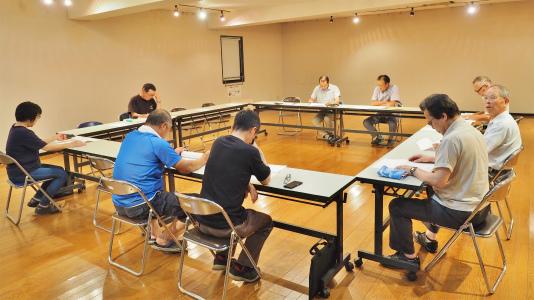 協定会議の運営委員会が開かれました_c0336902_15460569.jpg