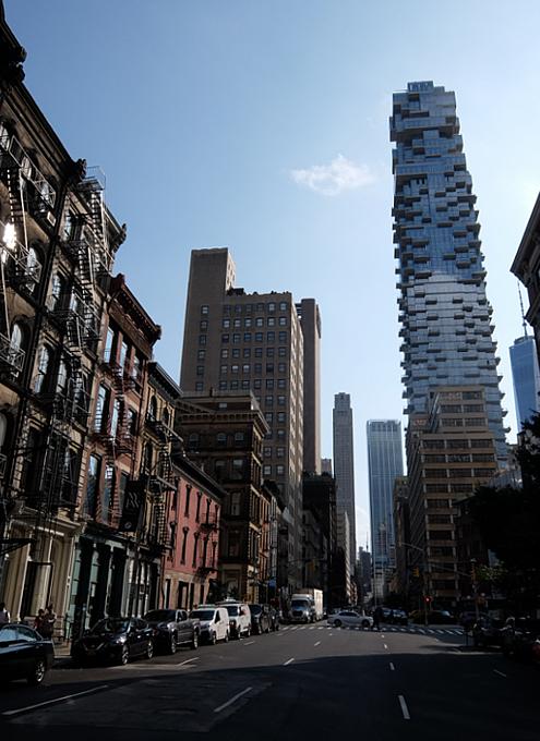 秋のニューヨーク、トライベッカ(Tribeca)地区の街角風景_b0007805_02351253.jpg
