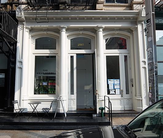 """NYトライベッカにある""""The Drug Store""""(ザ・ドラッグ・ストア)1号店_b0007805_03152358.jpg"""