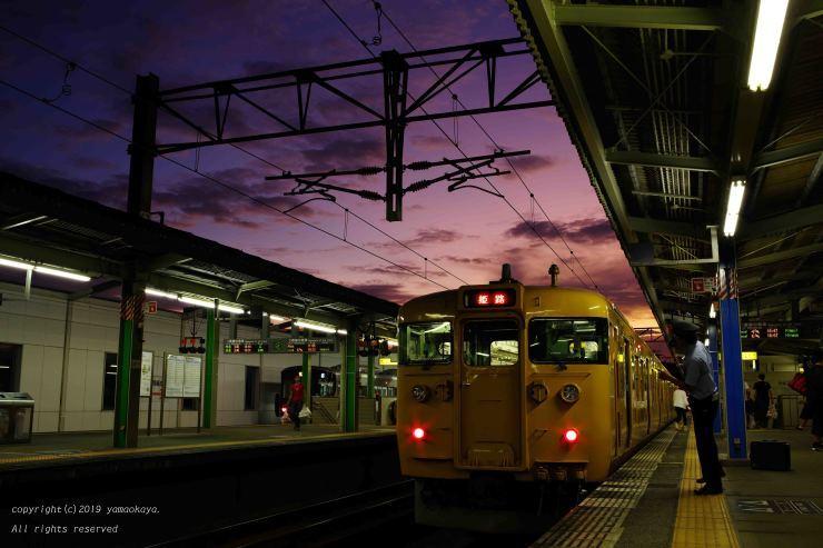 夕暮れの高架駅_d0309612_00225463.jpg