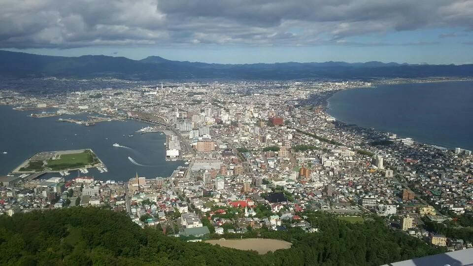 修学旅行・函館山_d0382316_14230381.jpg
