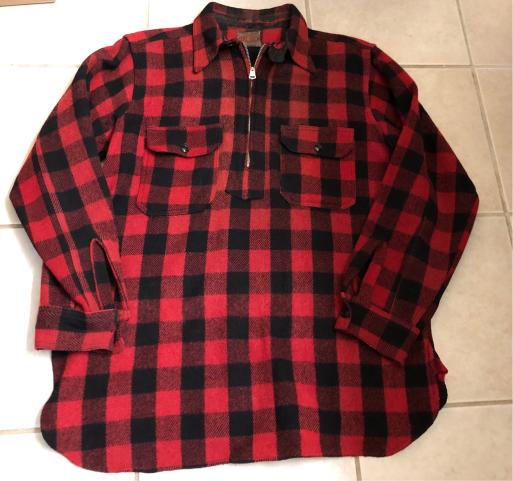 アメリカ仕入れ情報#16 30sマチ付き 扇Talon  zero Tex pullover wool shirts!_c0144020_11500167.jpg