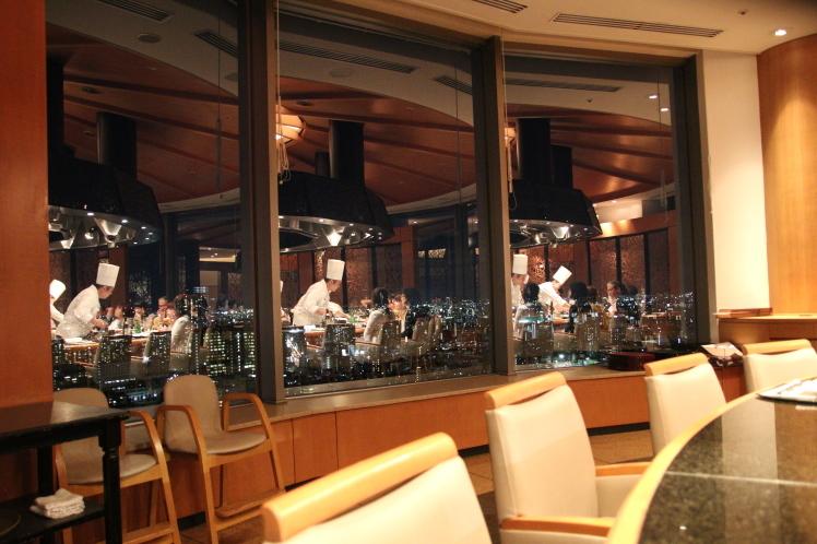 嘉門でディナー 帝国ホテル大阪_f0209122_09594185.jpg