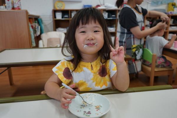 保育園 9月誕生日会_a0166025_16530889.jpg