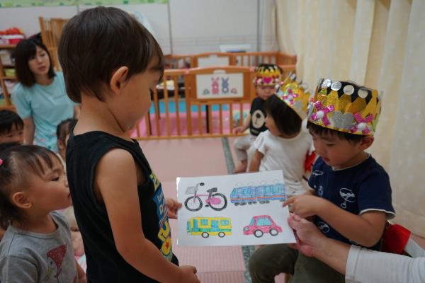 保育園 9月誕生日会_a0166025_17021140.jpg
