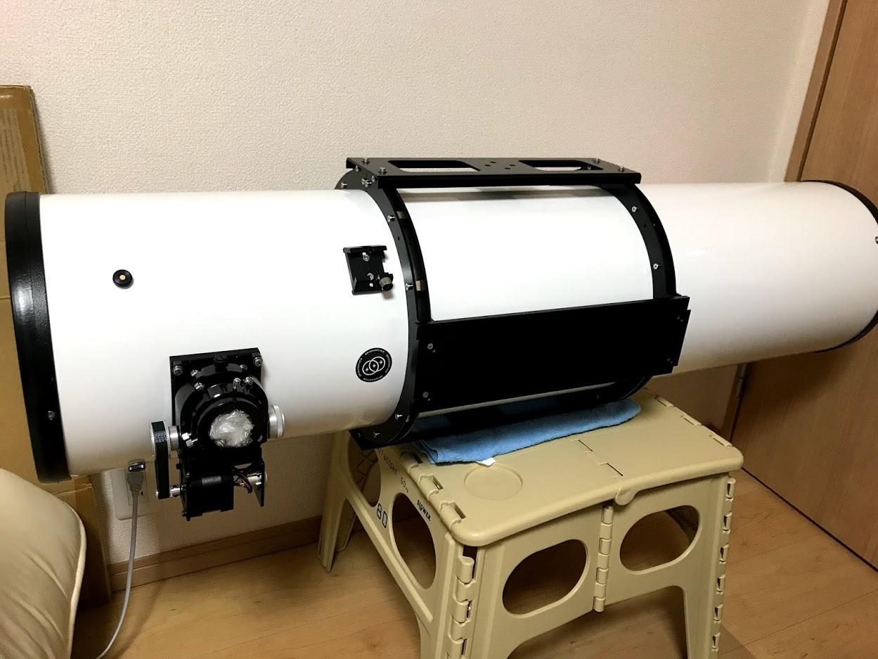 オライオン250 鏡筒バンドと電動フォーカーサーの製作_c0061727_09513930.jpg