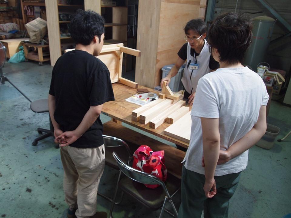 クラモクDIY学校でローテーブルを作ろう!!_b0211845_15435229.jpg