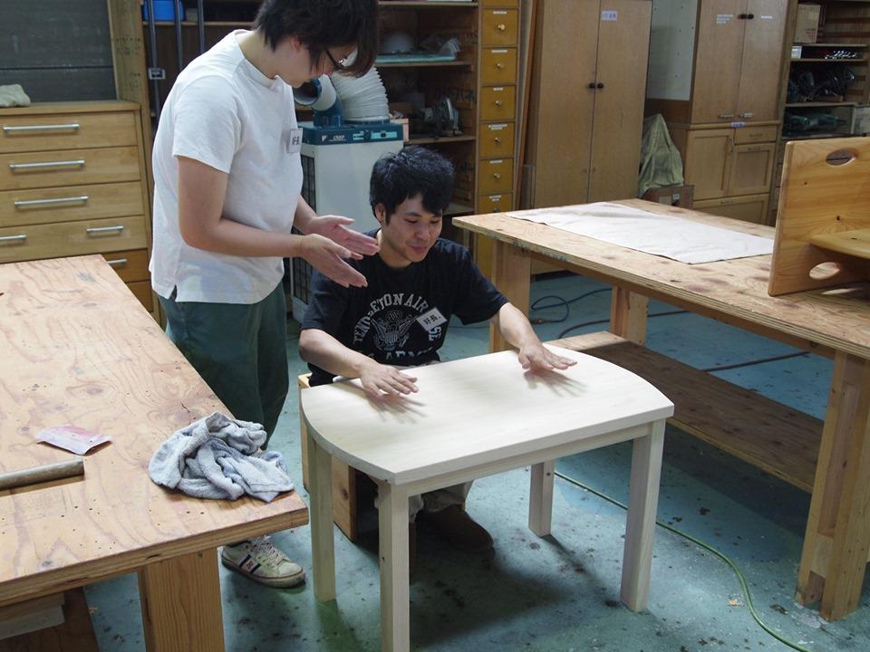 クラモクDIY学校でローテーブルを作ろう!!_b0211845_15435295.jpg