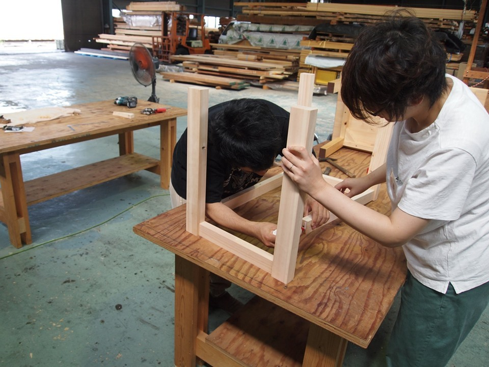 クラモクDIY学校でローテーブルを作ろう!!_b0211845_15465614.jpg