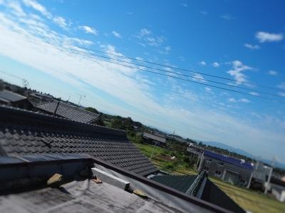 屋上防水の点検_e0010955_06000794.jpg