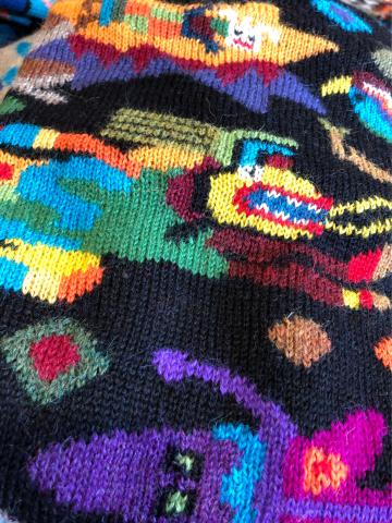 新作アルパカワンピース「インカの神々シリーズ・ピューマ」&アンデスの天然石のアクセサリー入荷しました_d0187468_21014413.jpg
