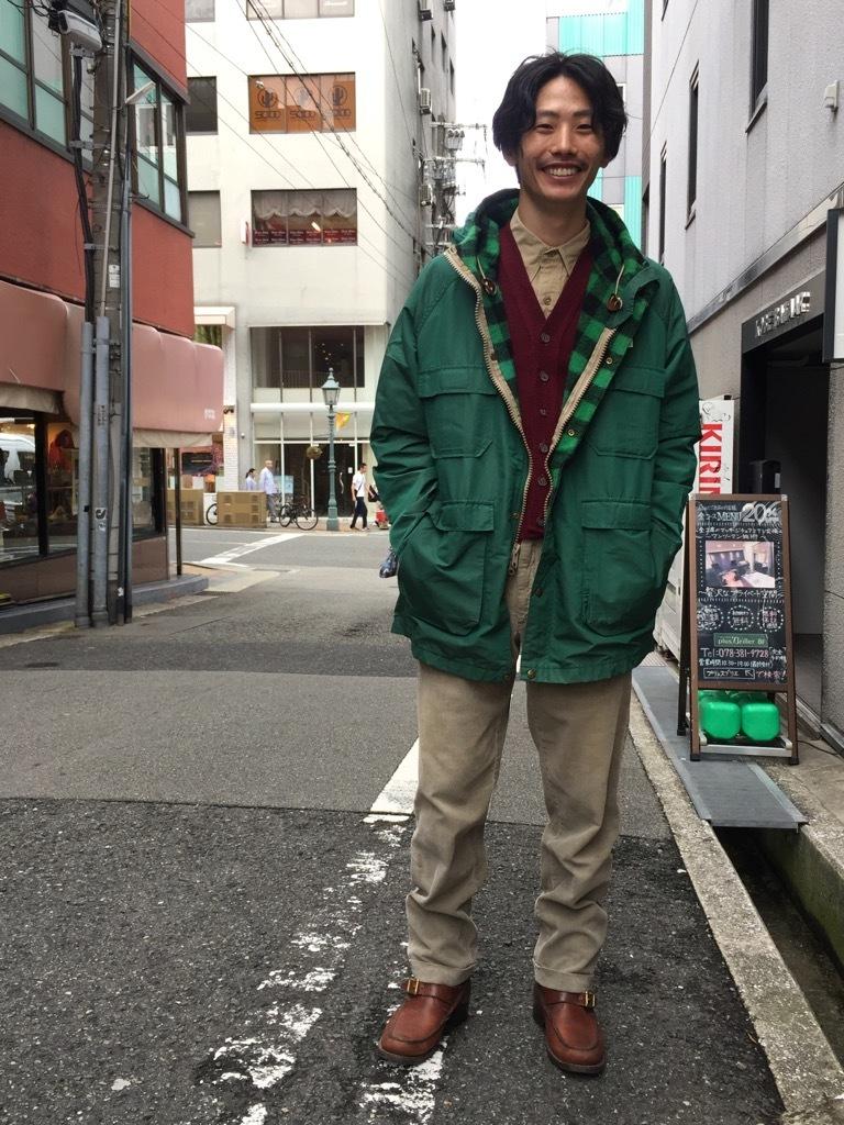 マグネッツ神戸店 この雰囲気がかっこいいMt.Parka!!!_c0078587_16530767.jpg