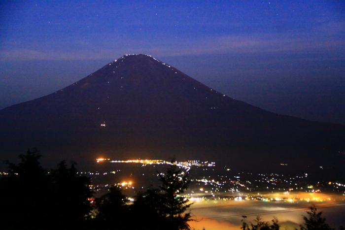 令和元年9月の富士(11)乙女峠夜明け前の富士_e0344396_16270451.jpg