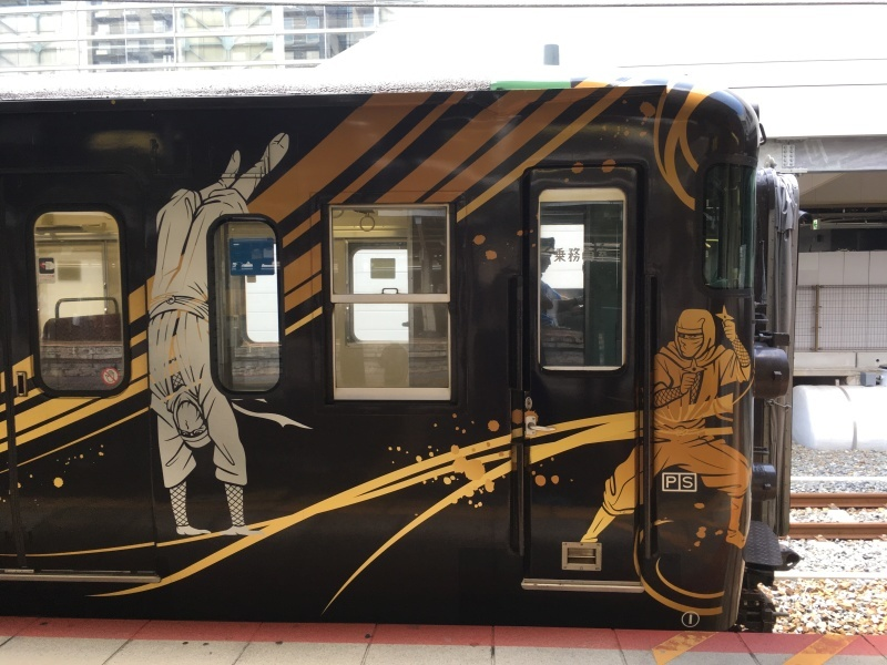 京都駅にてSHINOBI-TRAIN&スーパーはくとに出会う  *夏休み京都鉄道旅②*_d0367998_21110393.jpeg