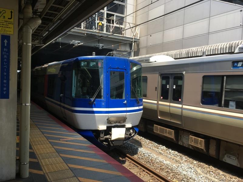 京都駅にてSHINOBI-TRAIN&スーパーはくとに出会う  *夏休み京都鉄道旅②*_d0367998_21502474.jpeg