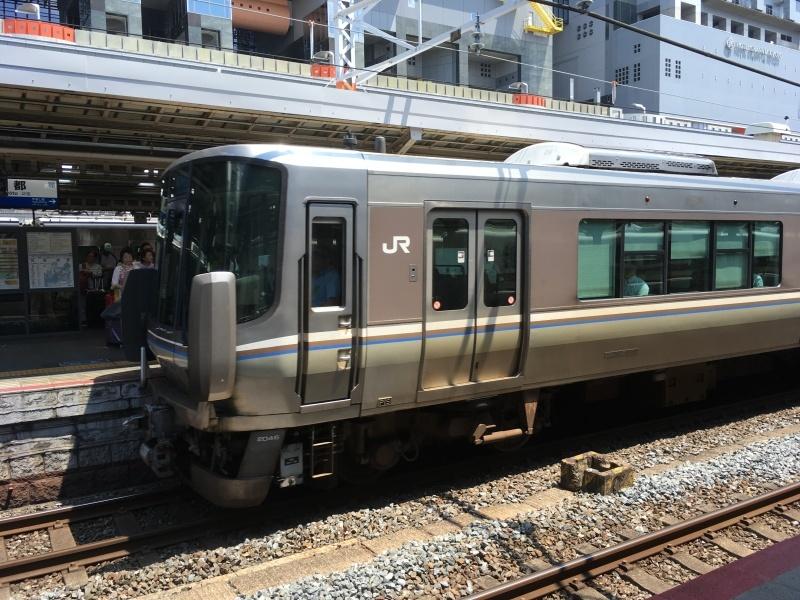 221系、223系、117系、そしてサンダーバード!*夏休み京都鉄道旅③*_d0367998_22112730.jpeg