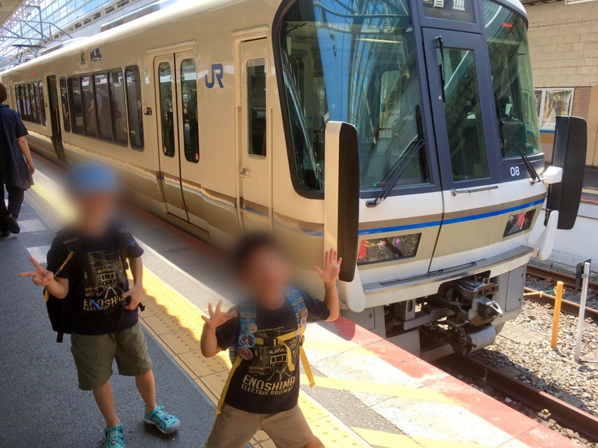 221系、223系、117系、そしてサンダーバード!*夏休み京都鉄道旅③*_d0367998_22121886.jpeg