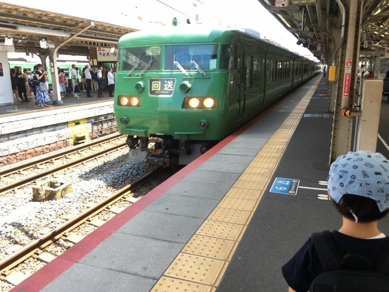 221系、223系、117系、そしてサンダーバード!*夏休み京都鉄道旅③*_d0367998_22124001.jpeg