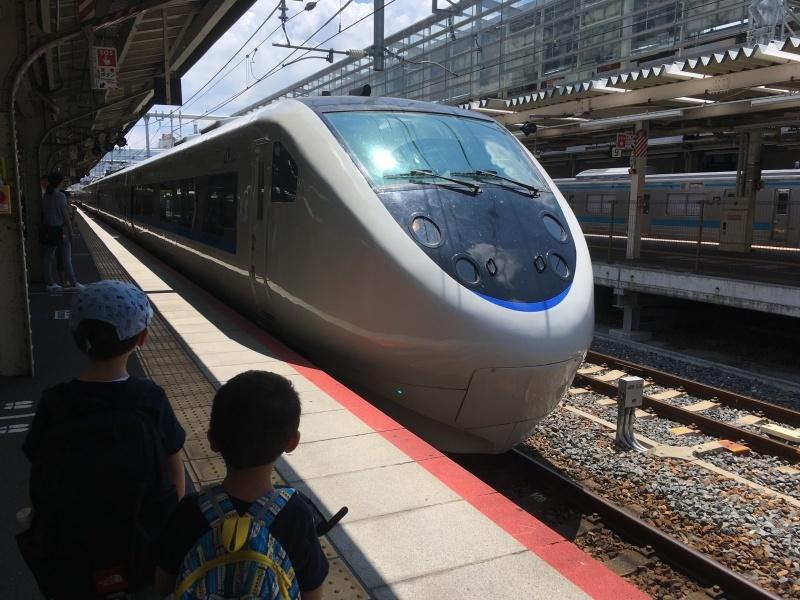 221系、223系、117系、そしてサンダーバード!*夏休み京都鉄道旅③*_d0367998_22133342.jpeg