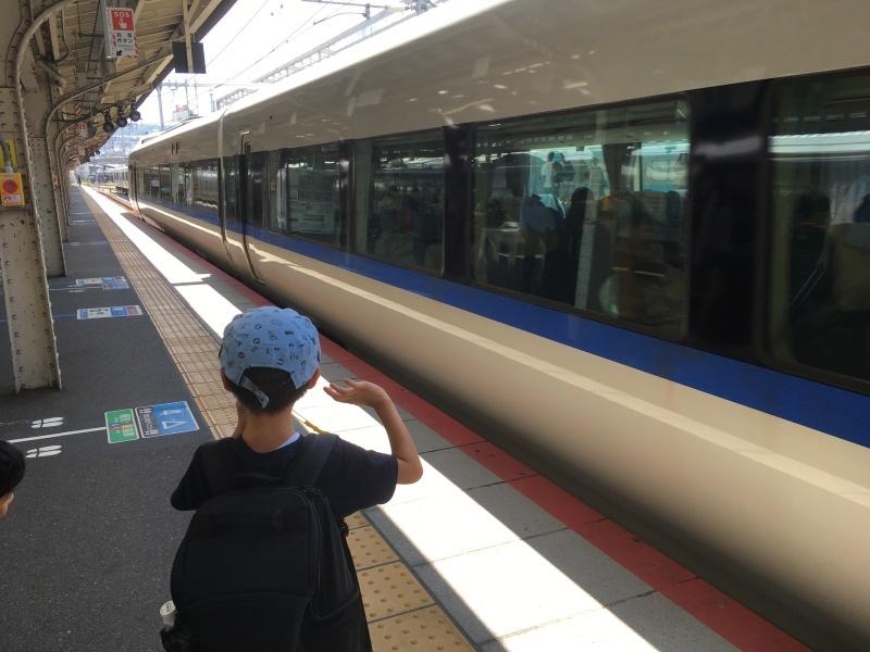 221系、223系、117系、そしてサンダーバード!*夏休み京都鉄道旅③*_d0367998_22135958.jpeg
