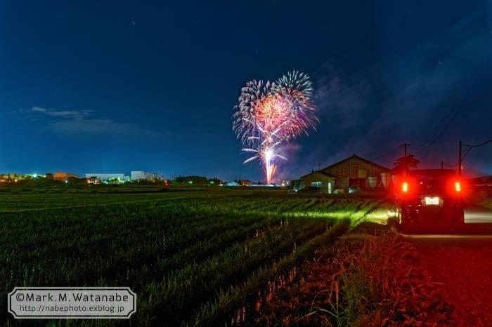 菊陽町の花火_e0135098_21511129.jpg