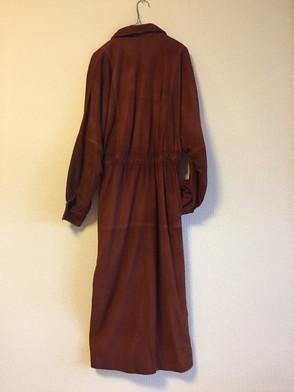 Hermes Suede dress_f0144612_06433503.jpg