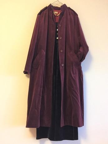 Dior Velor coat_f0144612_06502292.jpg