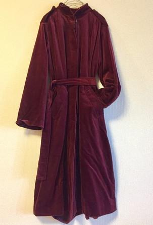 Dior Velor coat_f0144612_06514058.jpg