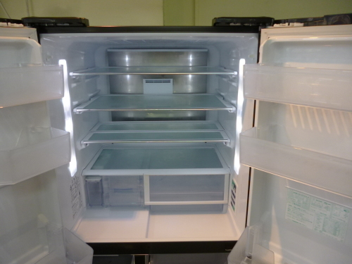 美品 2014年製 シャープ 474L フレンチタイプ5ドア 冷凍冷蔵庫_b0368515_19040126.jpg