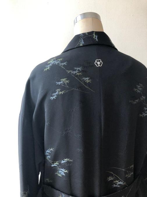 着物リメイク・羽織からハーフコート_d0127925_10023460.jpg