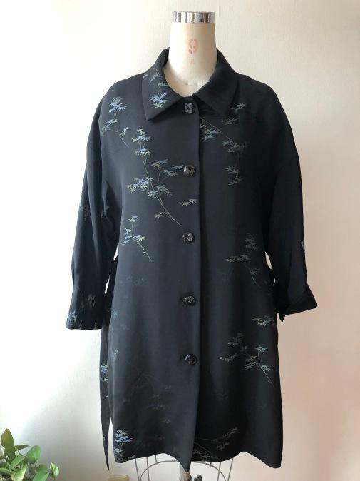 着物リメイク・羽織からハーフコート_d0127925_10023985.jpg