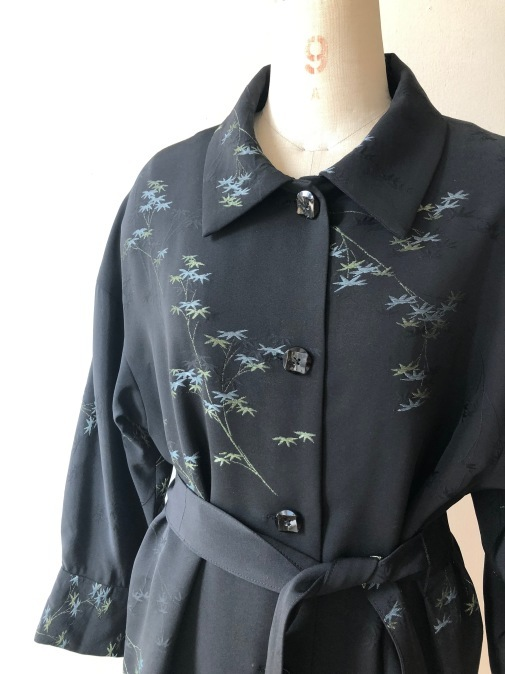 着物リメイク・羽織からハーフコート_d0127925_10024565.jpg