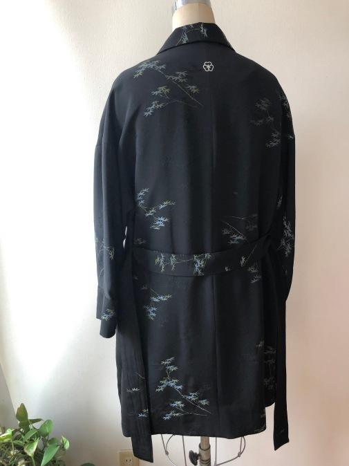 着物リメイク・羽織からハーフコート_d0127925_10025083.jpg