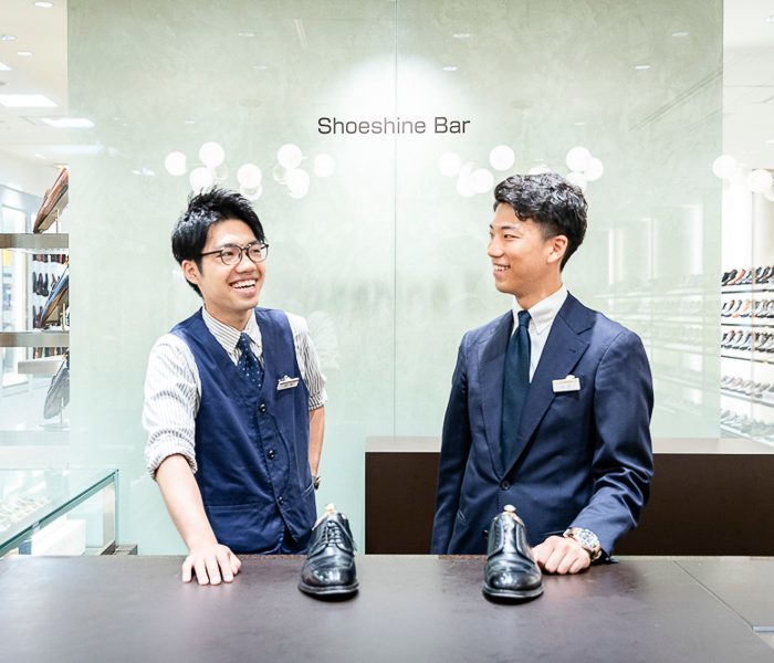 日本橋三越のホームページで靴磨きのコラム始まりました。_a0154931_10290836.jpg