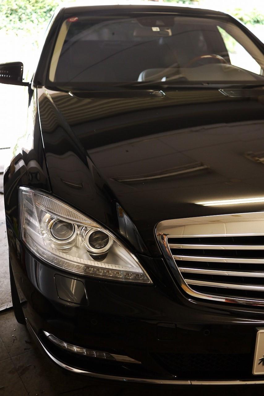 メルセデス ベンツ W221 S550 後期  ABS等 チェックランプ_d0171835_10185626.jpg