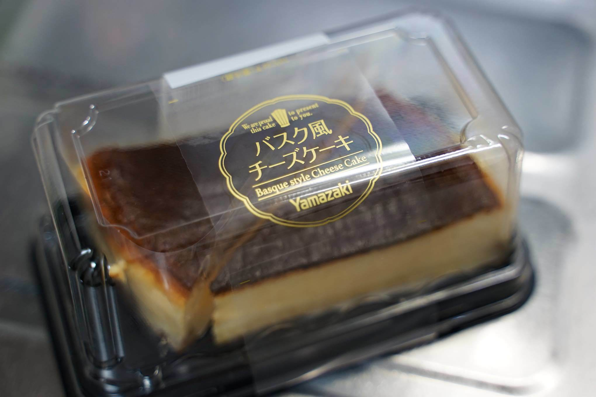 Yamazaki バスク風チーズケーキ_b0360240_12301235.jpg