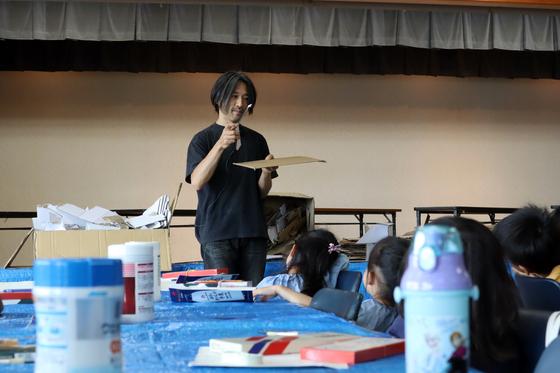 やと子ども美術教室 ~  ダンボールでつくる立体 ~_e0222340_15401777.jpg