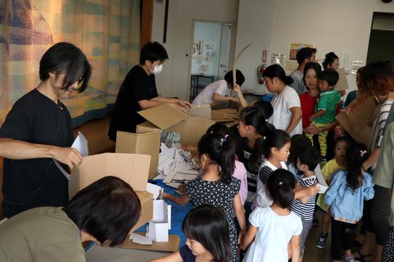 やと子ども美術教室 ~  ダンボールでつくる立体 ~_e0222340_15465072.jpg