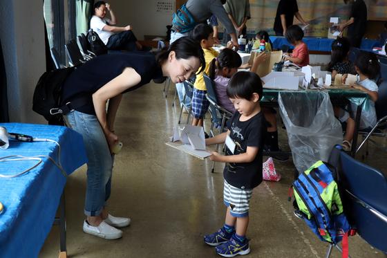 やと子ども美術教室 ~  ダンボールでつくる立体 ~_e0222340_15514876.jpg