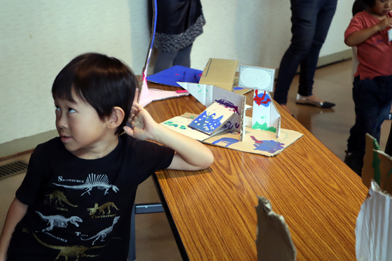 やと子ども美術教室 ~  ダンボールでつくる立体 ~_e0222340_16111046.jpg
