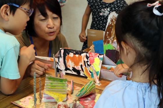 やと子ども美術教室 ~  ダンボールでつくる立体 ~_e0222340_16112266.jpg
