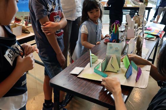 やと子ども美術教室 ~  ダンボールでつくる立体 ~_e0222340_169499.jpg