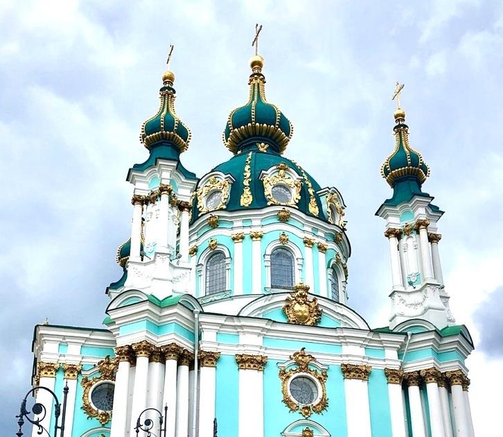 アンドレイ教会@キエフ/ウクライナ_a0092659_22385577.jpg