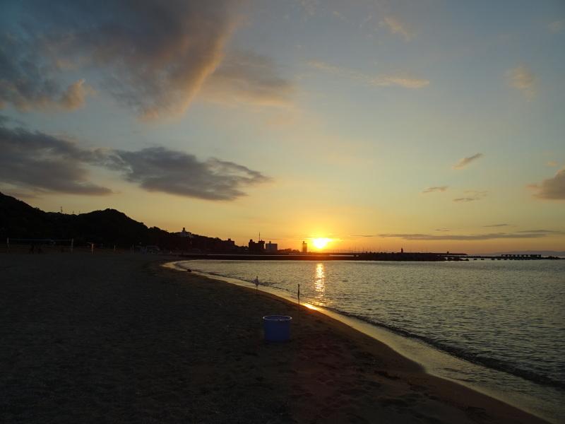 「ウミホタルウオッチング」 in  せんなん里海公園潮騒ビバレー前砂浜_c0108460_22371037.jpg