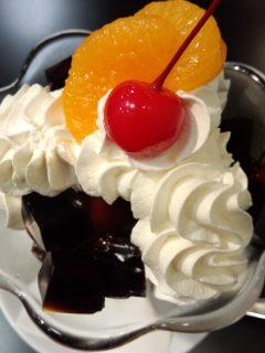 美食の京都展 イノダコーヒのコーヒーゼリーチョコパフェ_f0112873_8273055.jpg