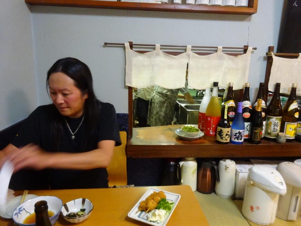 新潟 3 【9/11 古町で飲む! 2軒目 『喜ぐち』】_d0061678_17023216.jpg